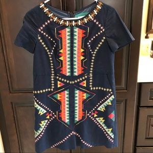 Maeve Embroidered Dress from Anthropologie